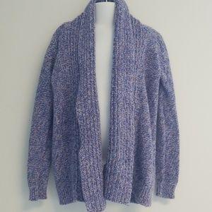 Cat & Jack long sleeve purple cardigan